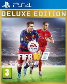 FIFA 16 Deluxe Edition PS4 - Preowned  £2.99  Game
