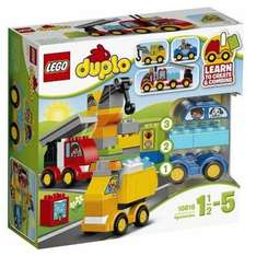 LEGO 10816 Duplo My First Cars and Trucks - Multi-Coloured £10.90 Prime / £15.65 Non Prime @ Amazon