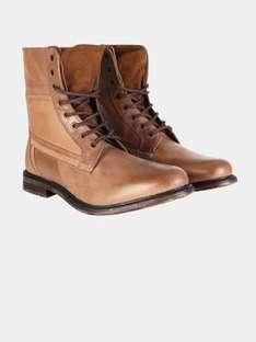 Tan leather boots £40 @ Burton shoes