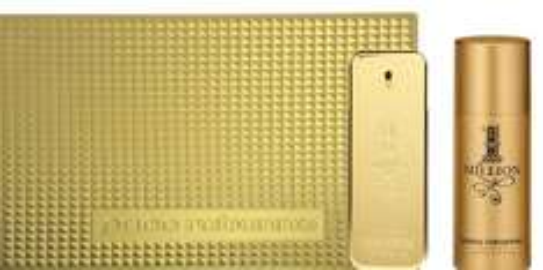 Paco Rabanne 1 Million Set for Men, 100ml EDT + 150ml Deodorant - £44.99 @ Amazon
