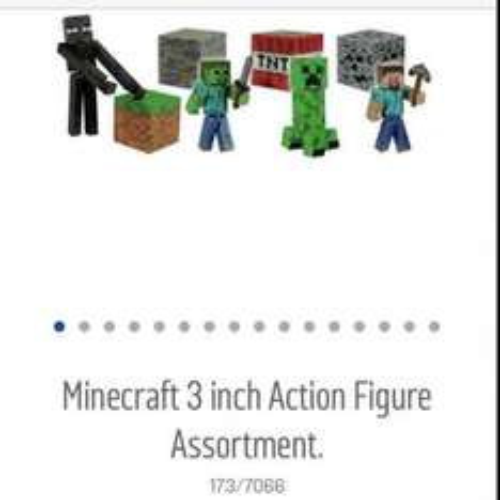 Half price minecraft figures now £3.99 at Argos.