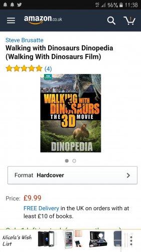 Walking with dinosaurs 3d movie dinotopia book poundland - £1