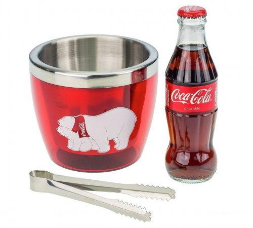 Coca-Cola Mini Ice Bucket With Coke & Tongs Gift Set Was £12.99 Previously £10.39 Now £6.49 (Free c&c) @ Argos