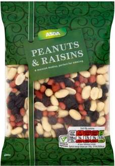 ASDA Farnborough 600g Peanuts & Raisins £1.00
