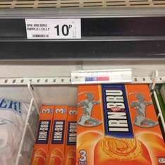 Irn Bru lollies 3pk reduced to 10p!!! @ Farmfoods