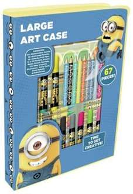 Despicable Me Minions Large Art Case, 67 Pieces ~ £3.99 @ Argos (Free R&C)