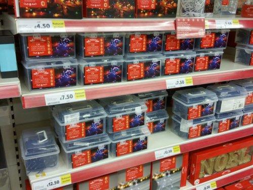 Christmas lights reduced  - 100 indoor/outdoor £7.50