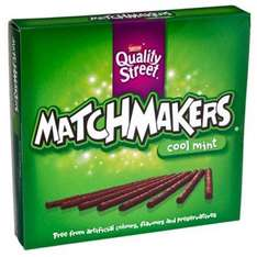 Orange and mint flavour Matchmakers £1 @ poundland