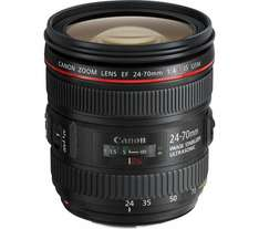 Canon 24-70 L F4 IS £675 + £160 cashback £515 @ Currys