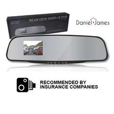 Car Camera - Rear View Mirror DVR half price to £15 and free delivery using code 'car' @ Weekly deals4less