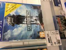 Star Wars Battlefront PS4 £10 @ Asda instore - Brighton