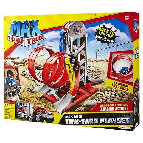 Max Tow Truck Tow-Yard Playset £3.30 @ Tesco - Free c&c