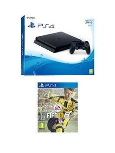 Ps4 slim with Fifa £219.99 / £170 after cashback @ very