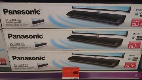 Panasonic soundbar SC-HTB8 Black £50 @ Sainsbury's instore only