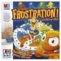 Frustration Board Game £6.26 at Tesco £9.99 at Argos £10.73 Amazon