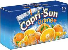 Capri-Sun Juice Drink Orange or Tropical (10 x 200ml) was £3.00 now 2 packs of 10 drinks for £3.50 @ Iceland