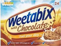 Weetabix Chocolate Cereal (540g) (24 Pack) was £2.69 now £2.00 @ Tesco