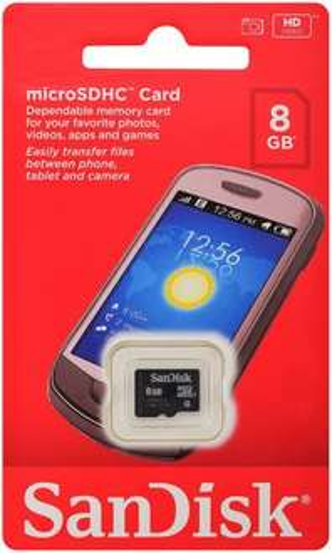 SanDisk Class4 microSD 8GB SDHC card, Clearance price £1.80 - Sainsbury's - Nottingham