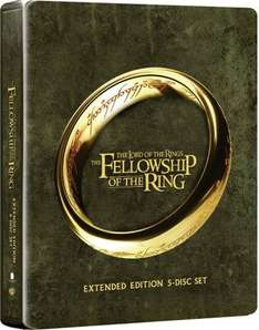 Lord Of The Rings: Fellowship Of The Ring Extended (Blu-Ray Steelbook) (C-12)5.99 ebay / theentertainmentstore
