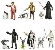 C&C. Argos. Star Wars: The Force Awakens Forest/Space Mission Figures.  £5.99 Save 1/3