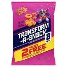 Golden Wonder Transform-a-Snack BBQ Flavour Multipack £0.50 @ Home Bargains
