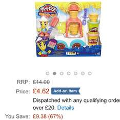 Play-Doh Town Ice Cream Truck £4.62 Add-on @ Amazon