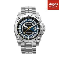 Bulova Men's Precisionist Blue Dial Bracelet Watch from Argos eBay £119.99