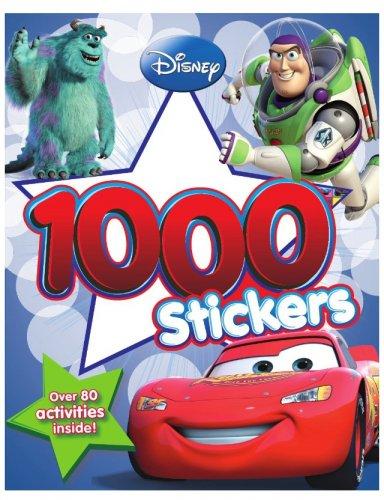 Disney Pixar 1000 sticker book - 99p delivered (Prime) on Amazon