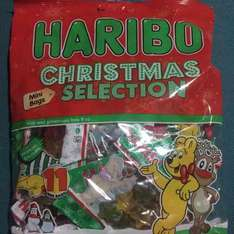 11 bags of Christmas haribo for 49p home bargains