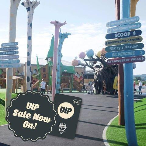 The Ice Cream Farm VIP Play Passes Half Price £50 for 100 plays