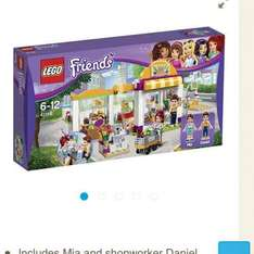 Lego friends supermarket £15.04 at Tesco direct