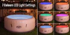Lay-Z-Spa Paris Inflatable Hot Tub £296.34 ( + £7.95 delivery) @ Tesco Direct