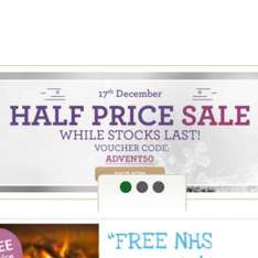 Half Price on Selected Items @ lloyds pharmacy