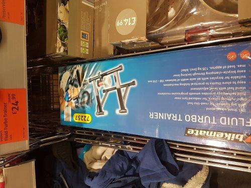 Aldi Bikemate Turbo Trainer half price