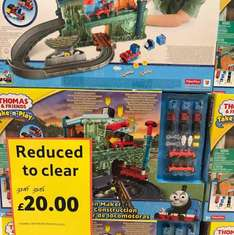 Thomas & Friends Take & Play - Train Maker Set was £27.97 now 13.40 with discount instore @Tesco
