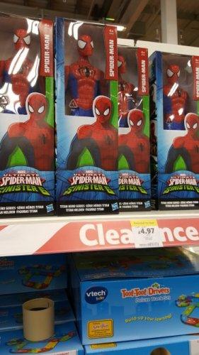 spiderman toy £4.97 @  Tesco instore