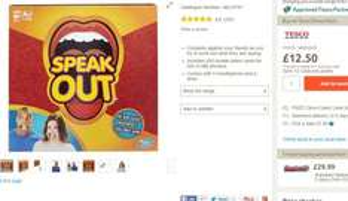 Speak Out £12.50 @ Tesco Direct