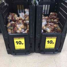 baking potatoes pack of 4 10p instore @ Tesco Extra Bedworth