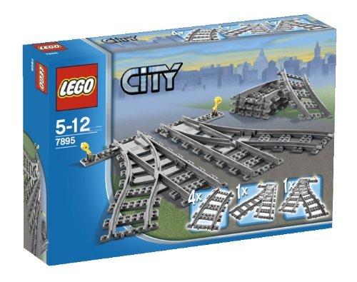 LEGO city train track £9.89 at Amazon Prime ( £12.88 non prime) (prev £15.99)