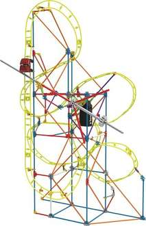 K'NEX Clock Work Roller Coaster Building Set @ Amazon £14.99 (Prime) £19.74 (Non Prime)