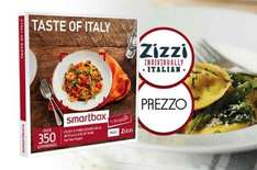 3 course meal for two with wine at Zizzi or Prezzo Buyagift 24% off everything with code - £22.79