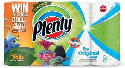 Plenty Kitchen Towel White (8) was £6.45 now £4.00 @ Tesco