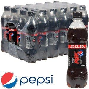 Pepsi Max 24 x 500ml Bottles RRP £23.76 Saving: £15.76 now £8.00 at HomeBargains