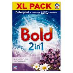 Bold 2 In 1 Powder Lavender & Camomile 80 Washes - £10 @ Poundland