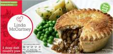 Linda McCartney Meat Free Country Pies (2 = 380g) was £2.00 now £1.50 (Rollback Deal) @ Asda