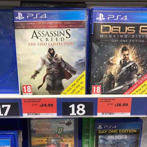 Assassins Creed The Ezio Collection (PS4) & (XB1) @ Sainsbury's £24.99