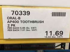 oral b AP400 £14.02 instore @costco