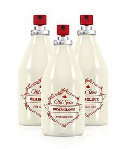 Old Spice BEARGLOVE Aftershave Spray Men 100ml (3 Pack) £7.99 Delivered Amazon Prime UK