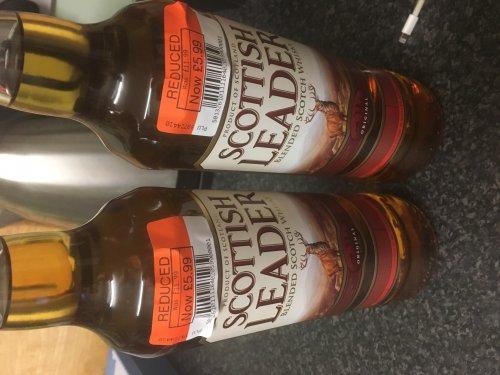 Scottish leader whisky £5.99 for 70cl instore at co-op
