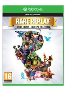Rare Replay Pre Owned (Sold&Fulfilled By Musicmagpie) @ Game for £10.84